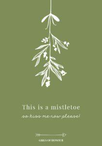 mistletoegroen