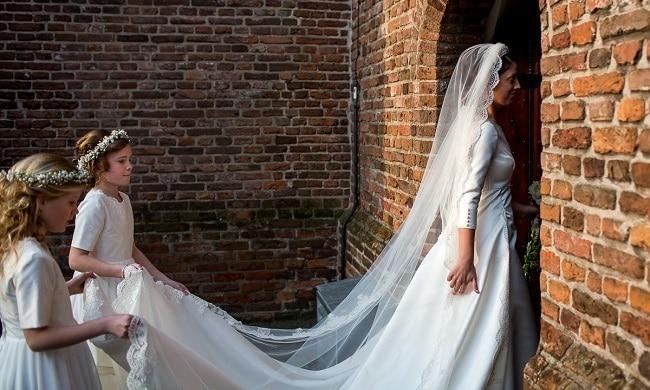 De klassieke bruiloft van Jos en Gerjanne
