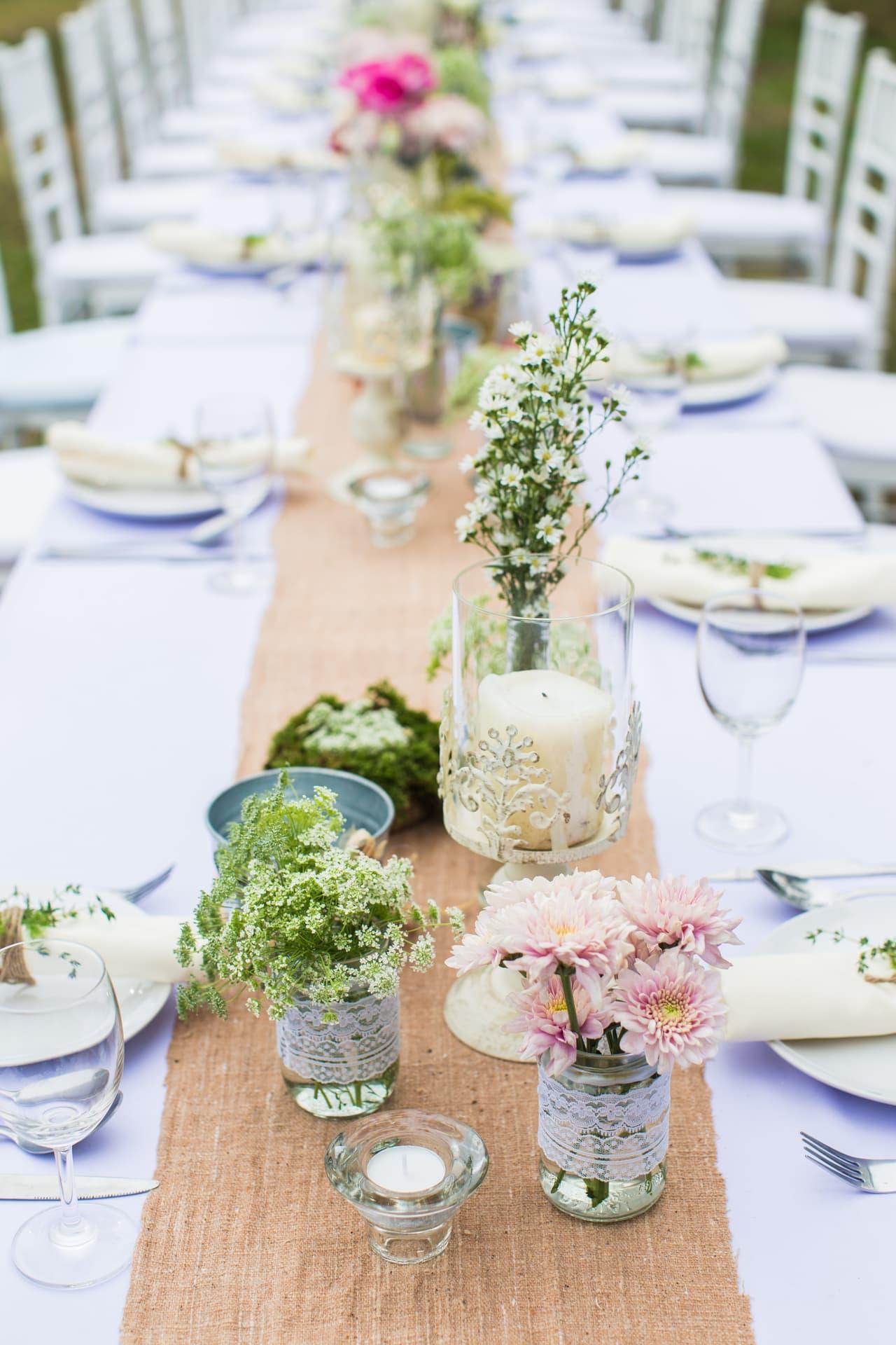 Diner etiquette bij een bruiloft girls of honour - Hochzeitsdeko altrosa ...