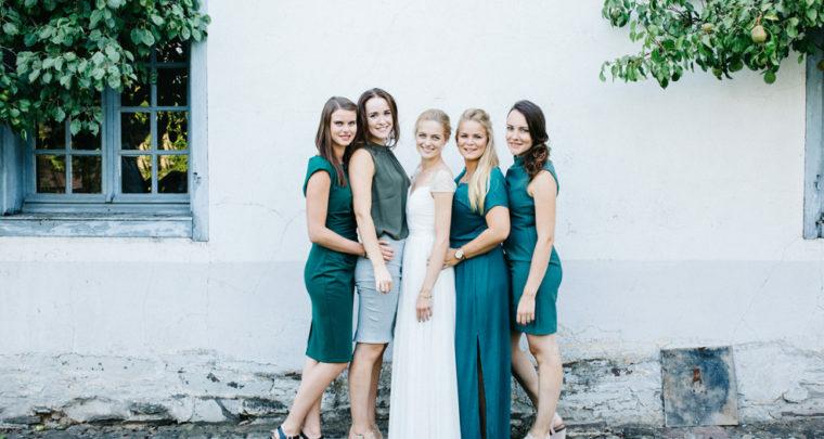 Inspiratie voor bruiloftsfoto's met vriendinnen