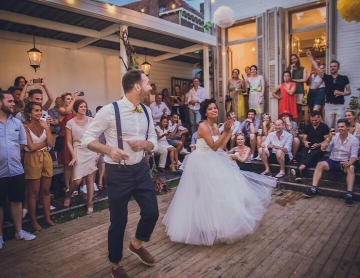 De creatieve bruiloft van Mischa en Iris (met een kano!)