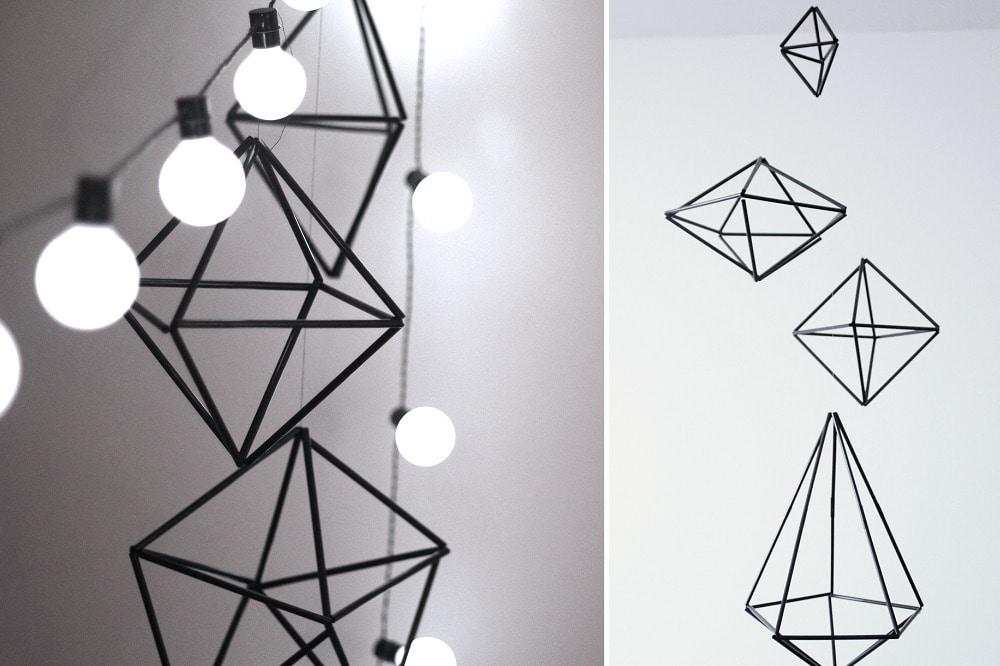 DIY: deze diamanten (himmeli) zijn super eenvoudig te maken én betaalbaar!