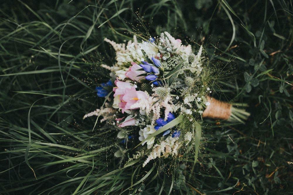 Biologische bruiloft 1