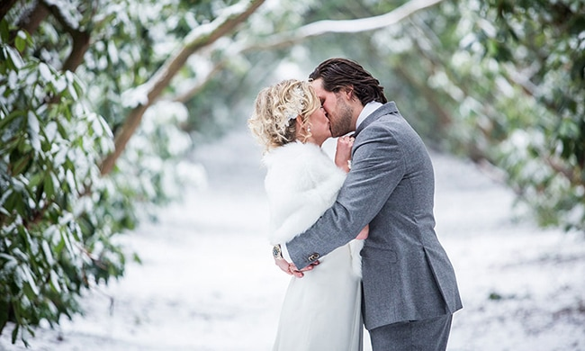 De winter als inspiratie voor jullie romantische bruiloft