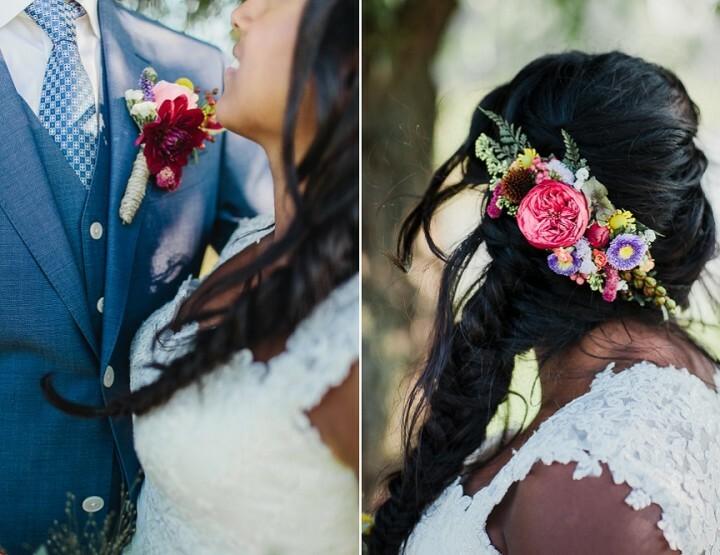 De zonnige bruiloft van Sanda en Edwin