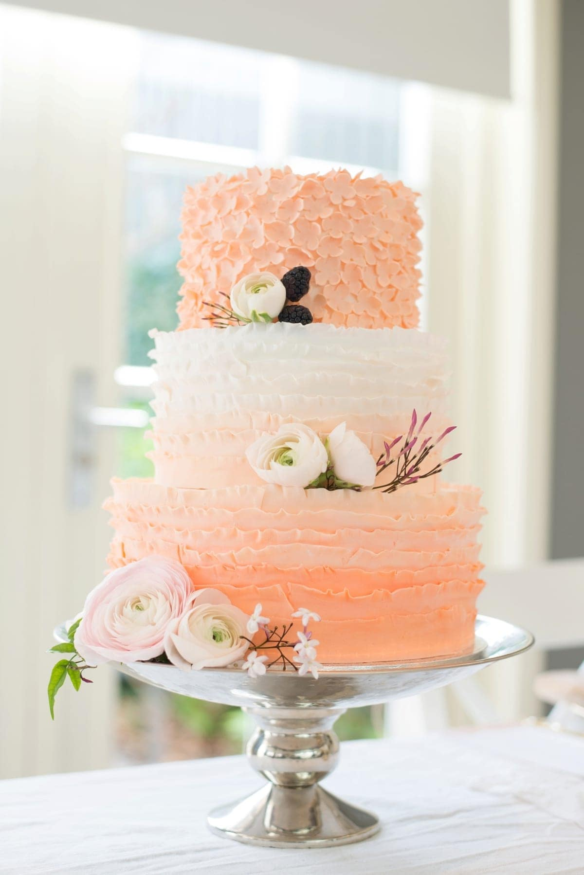 Blik en Bloos Fotografie - taart 2 - taart door Sugarlips Cakes