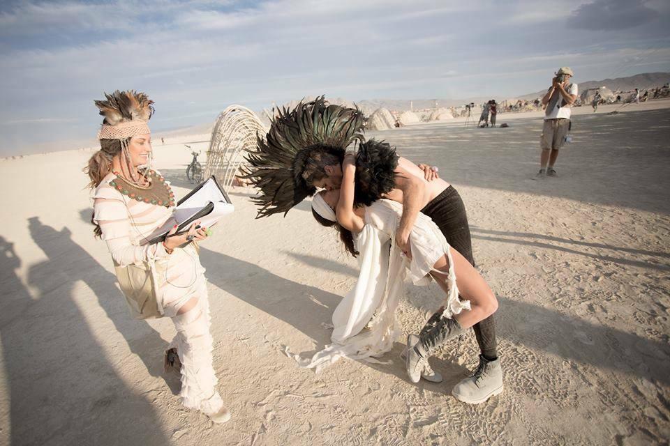 Bruiloft Burning Man 10