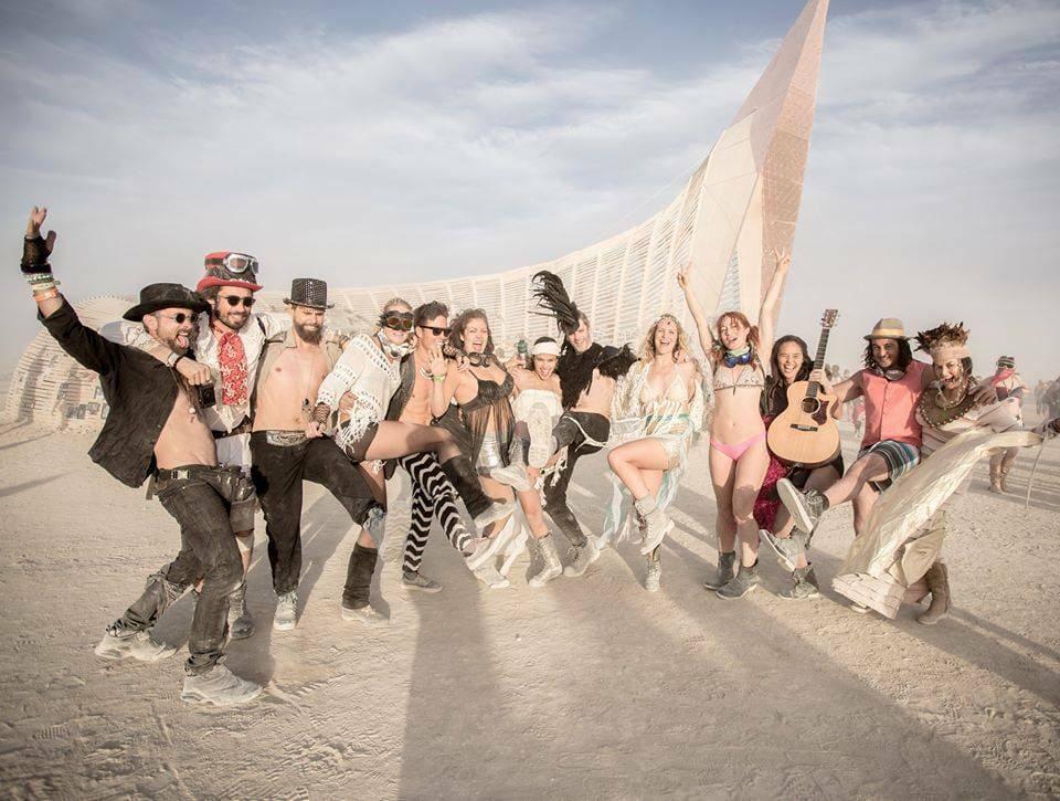 Bruiloft Burning Man 11