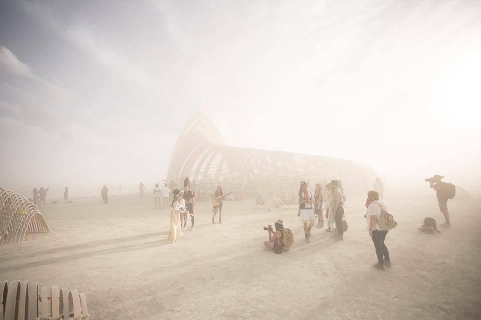 Bruiloft Burning Man 2