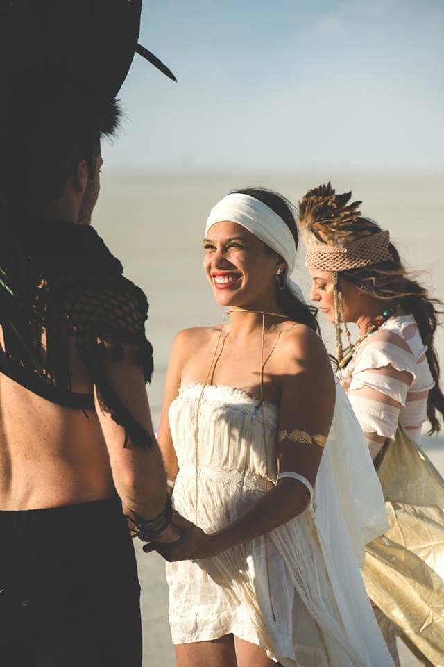 Bruiloft Burning Man 3