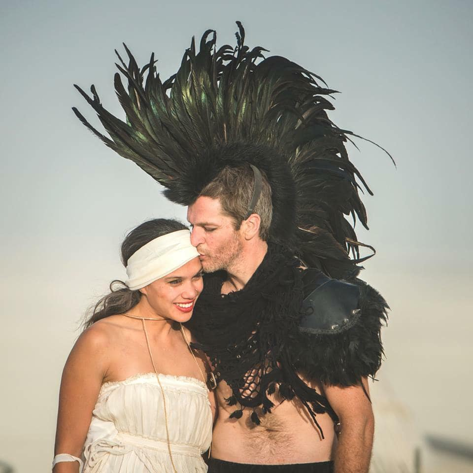Bruiloft Burning Man 4
