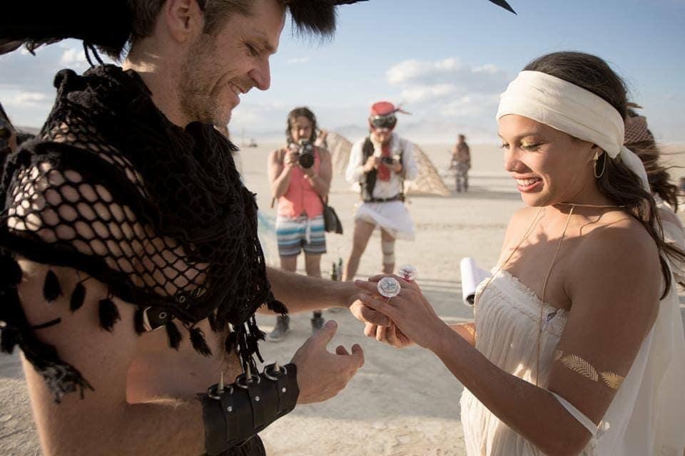 Bruiloft Burning Man 6