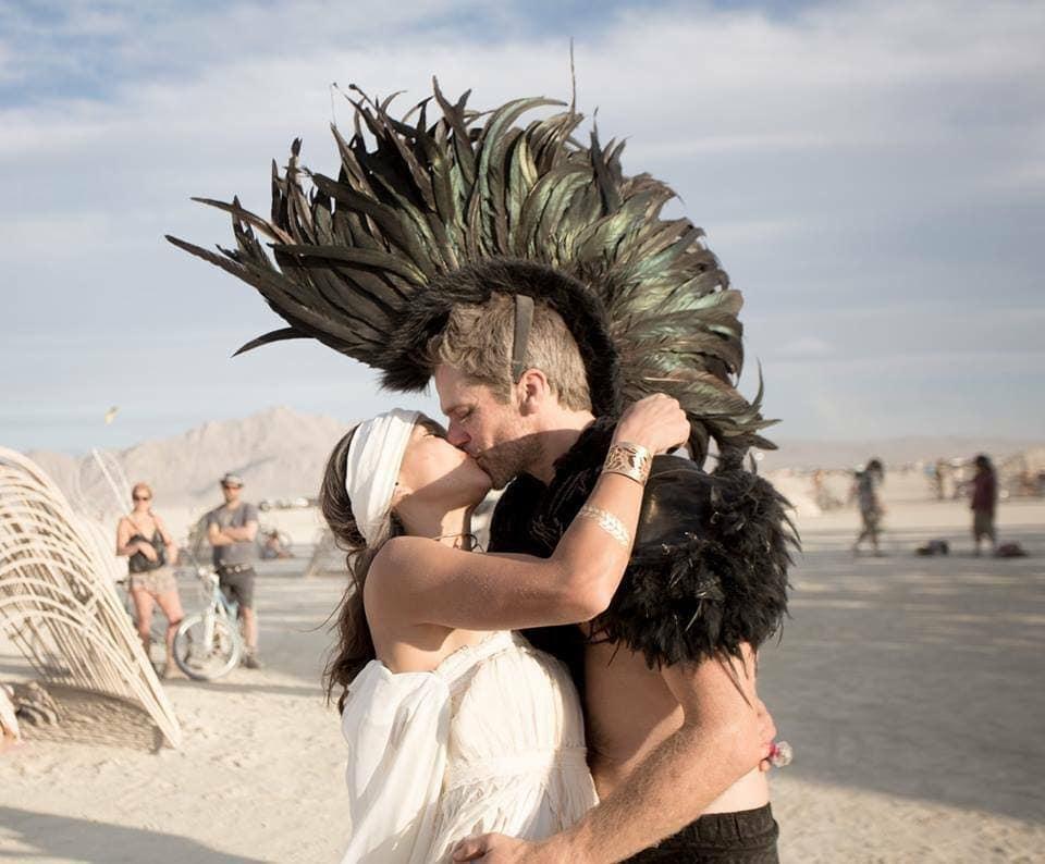 Bruiloft Burning Man 8