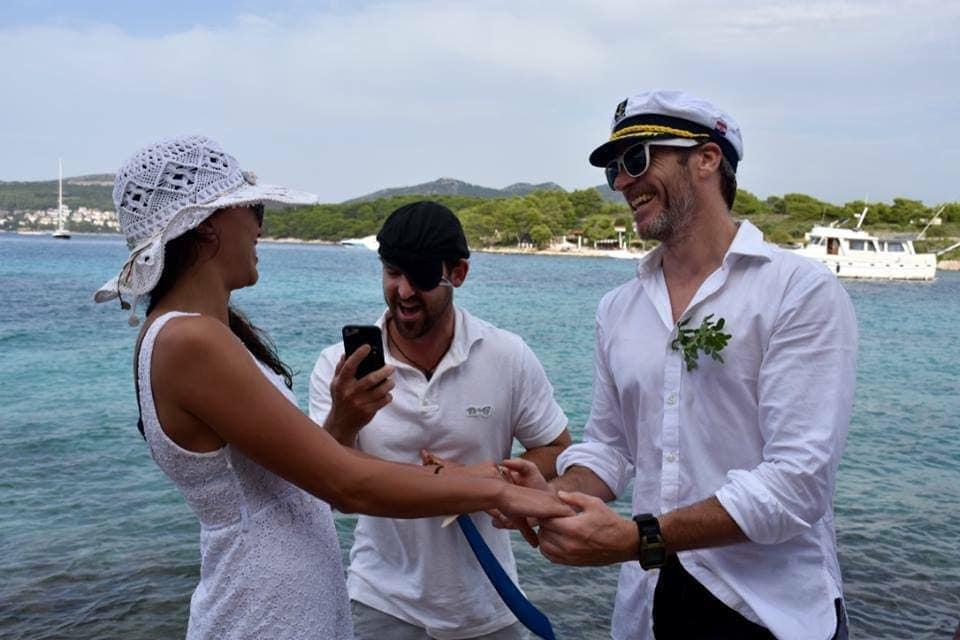 Bruiloft Kroatië 4