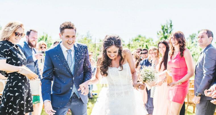 Het idee achter… rijst gooien naar het bruidspaar