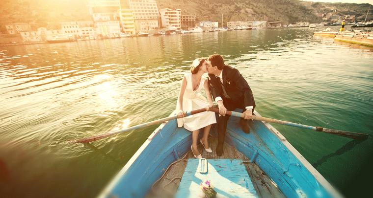 Drie originele huwelijksreis bestemmingen