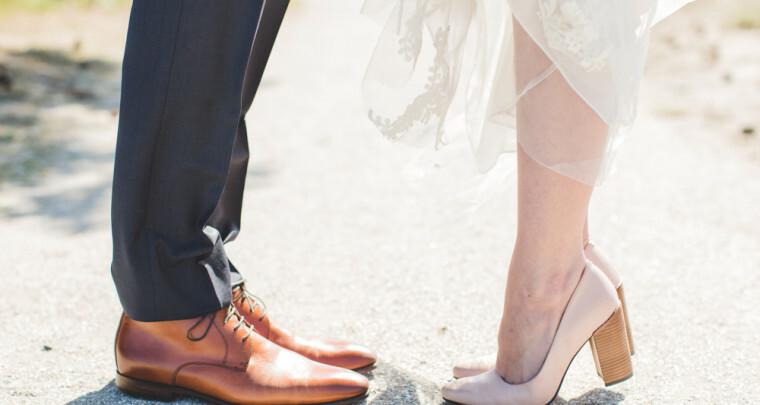 Zo loop je je hele bruiloft pijnloos op hakken