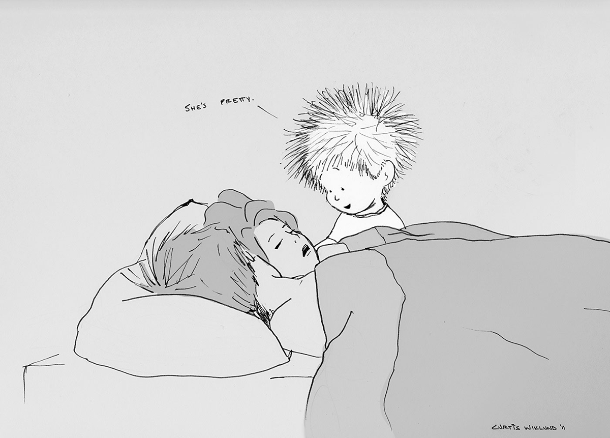 Iets Nieuws Deze tekeningen over de liefde zijn zo schattig! - Girls of honour #AL71