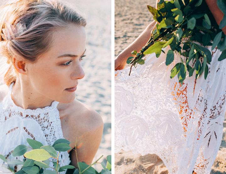 Styled shoot: Bruiloft aan zee