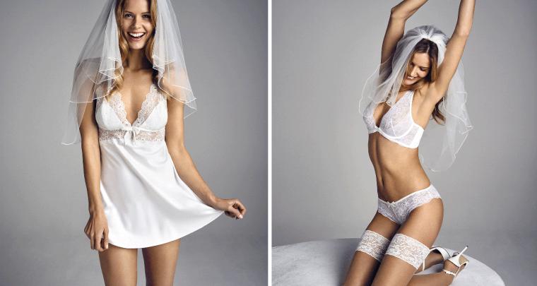 Sexy bruids-lingerie of een corrigerende slip, wat kies jij?