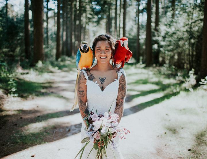 Een fotoshoot met dieren (papegaaien!) + do's en dont's