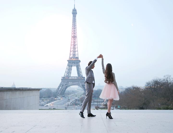 Aanrader: romantische loveshoot in Parijs!