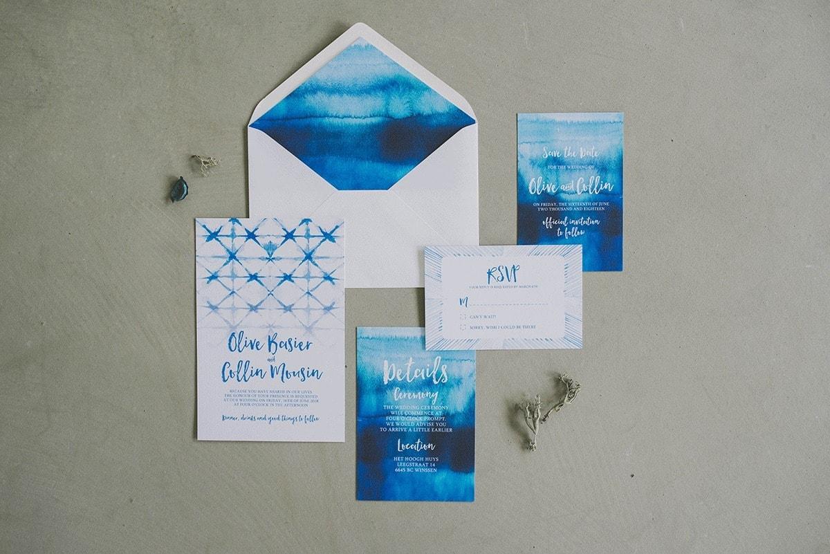 Trouwkaarten-set-4-Leintjes-exclusief-blauw-shibori-1