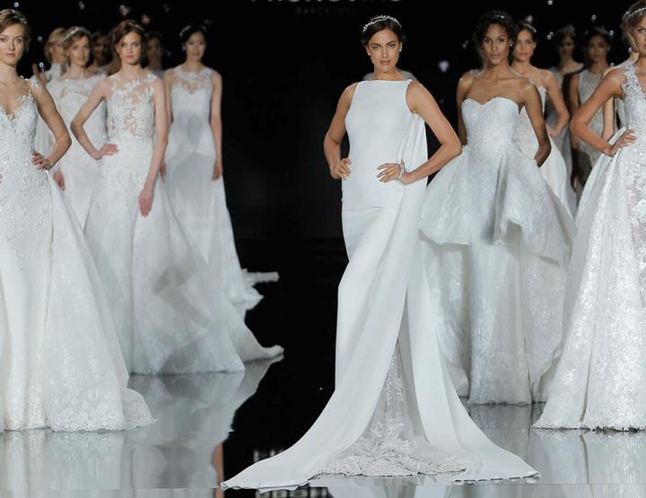 De mooiste trouwjurken van de Barcelona bridal week