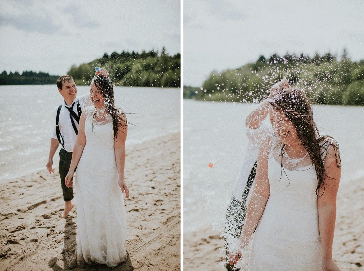 Leuk Om Te Doen Trash The Dress Fotoshoot