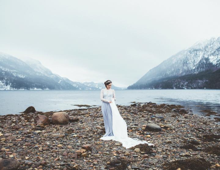 Inspiratie: een winterse bruiloft in Noorwegen