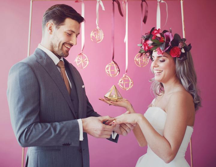 Inspiratie: Kleurrijk trouwen in de herfst