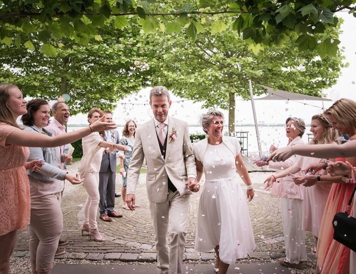 Superlieve en romantische bruiloft van Joost en Nancy