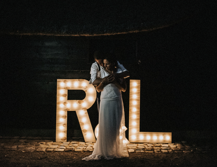 Sfeervol trouwen op een boerderij; Richard en Lizette deden het!
