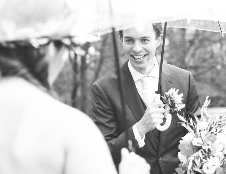 De romantische bruiloft van Thijs en Femke