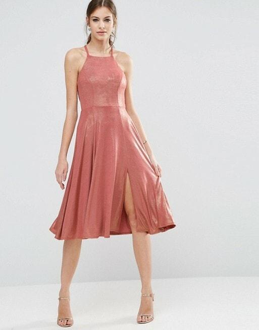 jurken-voor-bruidsmeisjes-roze-metallic-flirty-dress