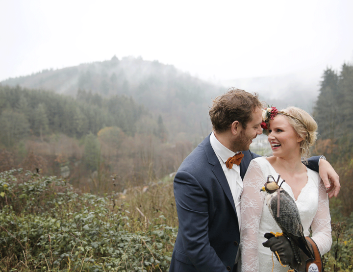 Laat je inspireren door deze heerlijke winterse bruiloft shoot