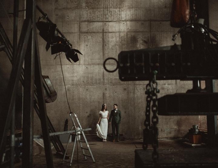 Thema van de week: een industriële bruiloft!