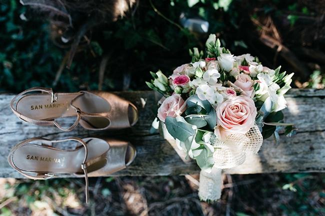 Rozen in bruidsboeket