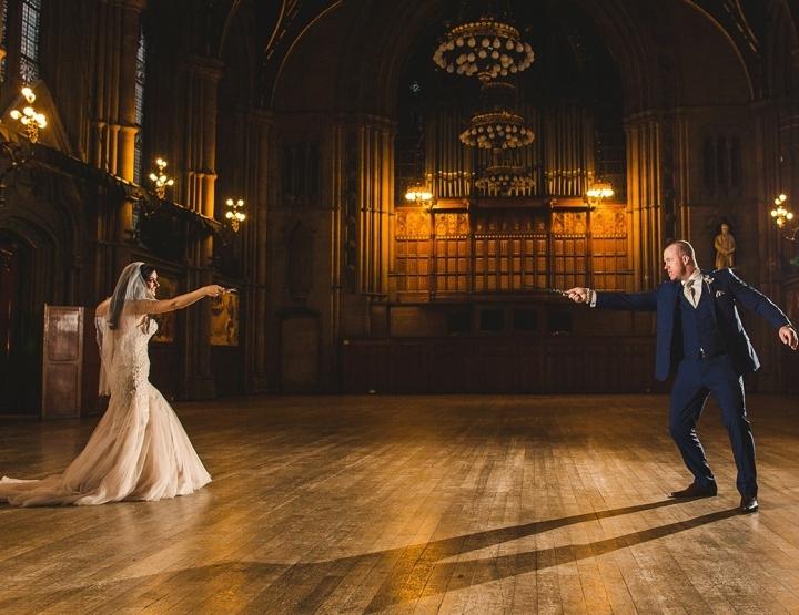 Laat je inspireren door deze magische Harry Potter bruiloft
