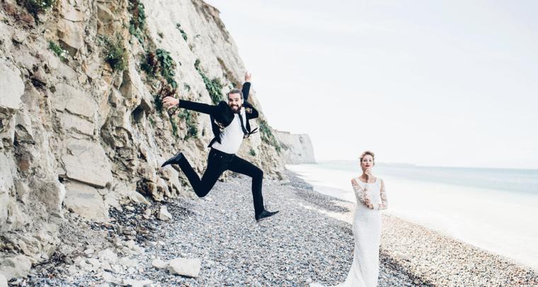 Een romantische bruiloft in Frankrijk