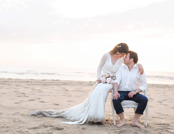 Real wedding; dit stel maakte hun trouwfoto's na de bruiloft!