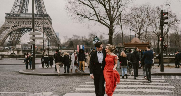 Perfect voor Valentijn: een Elopement bruiloft in Parijs