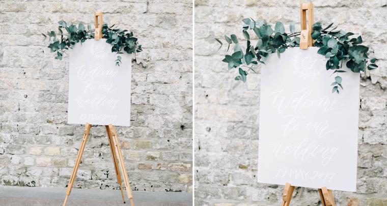 Inspiratie voor een lichte en romantische bruiloft