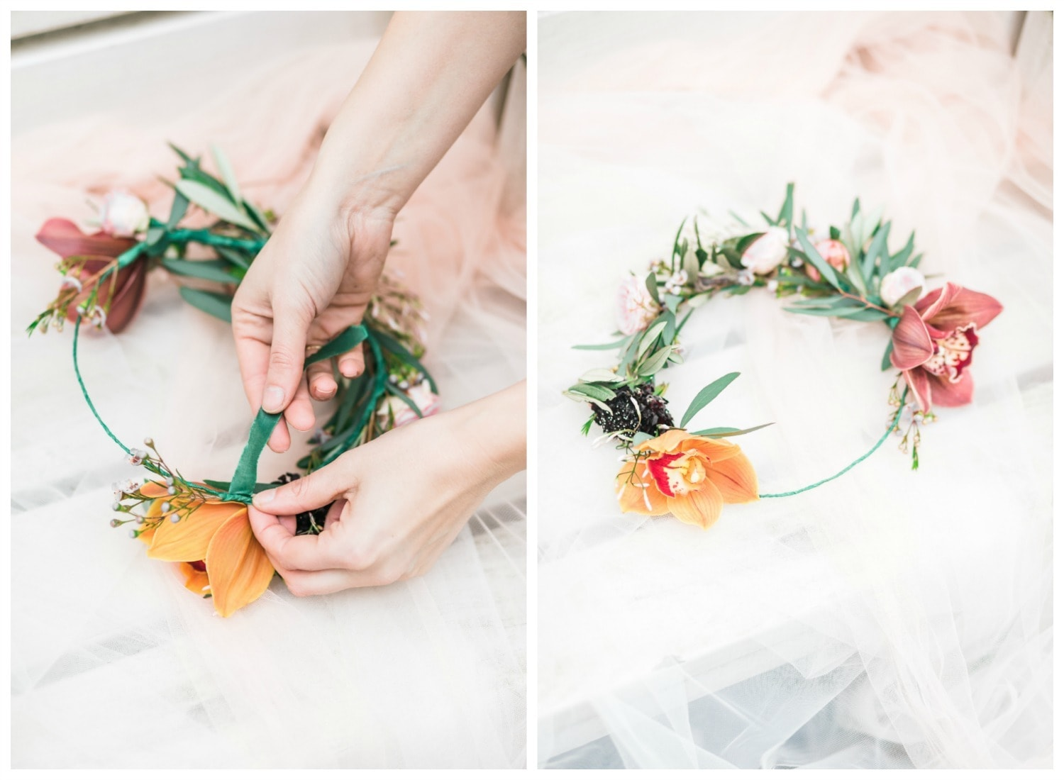 DIY flowercrown