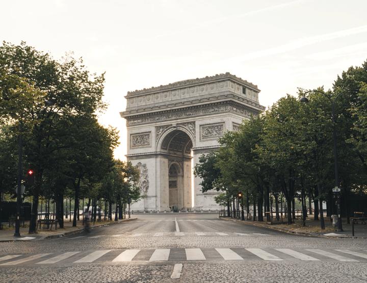 Liefdestrip naar Parijs