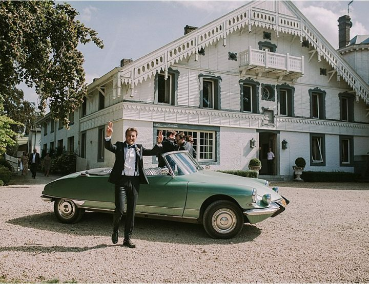 Een zomerse bruiloft op een super bijzonder landgoed aan de grens!