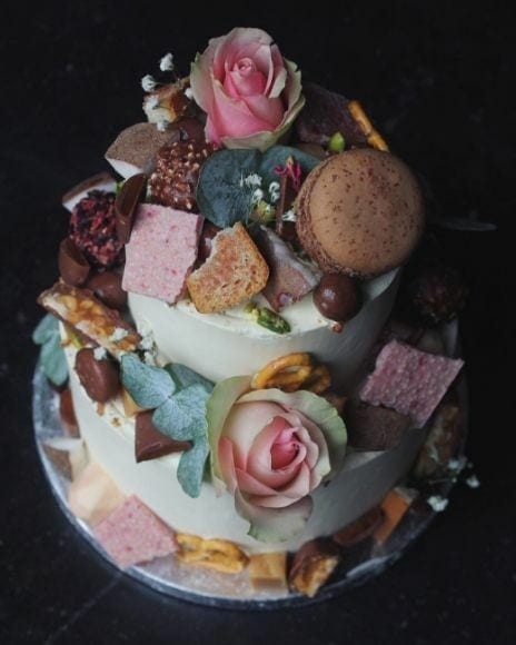 Life of Pie bruidstaart dripcake