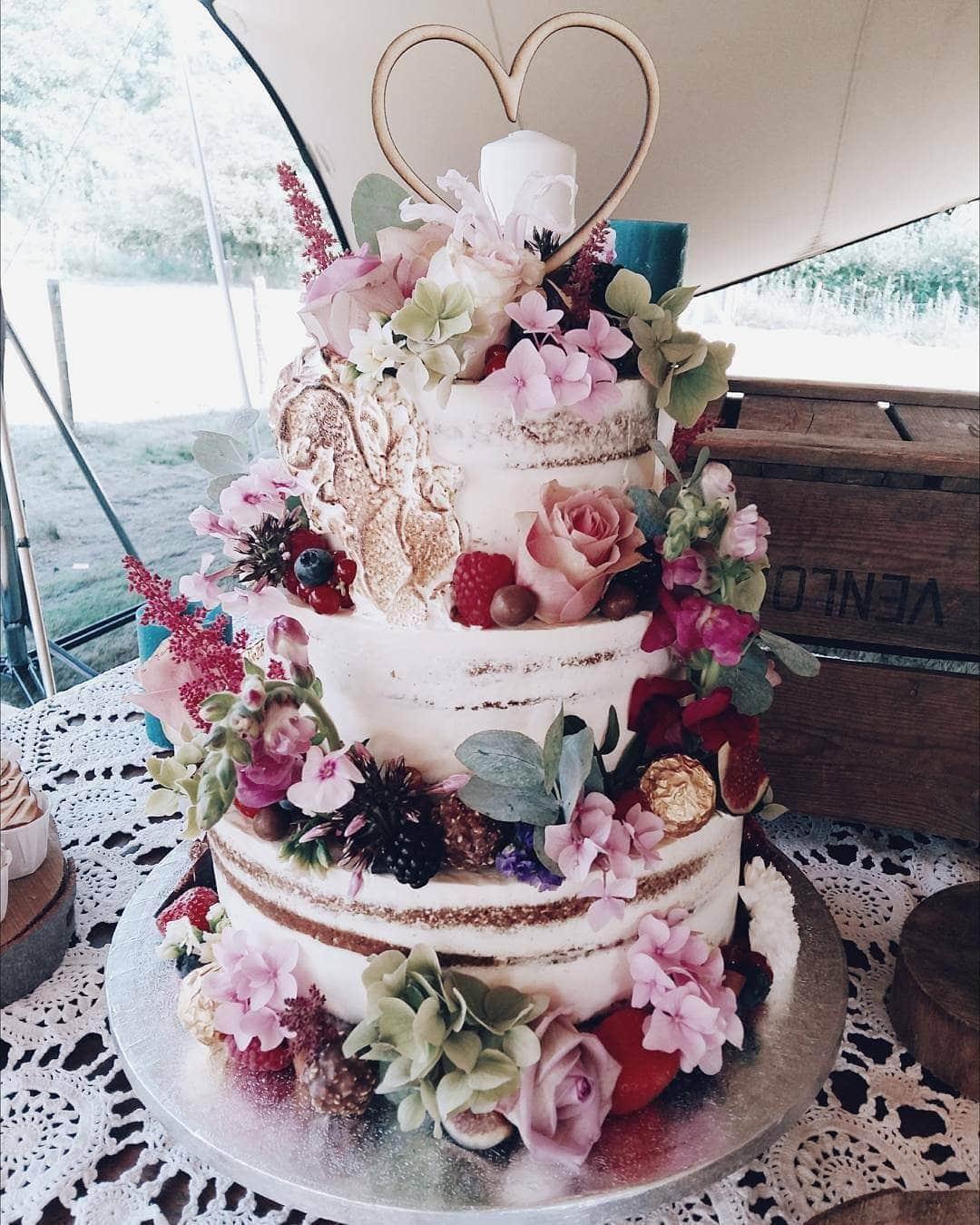 Life of Pie bruidstaart naked cake