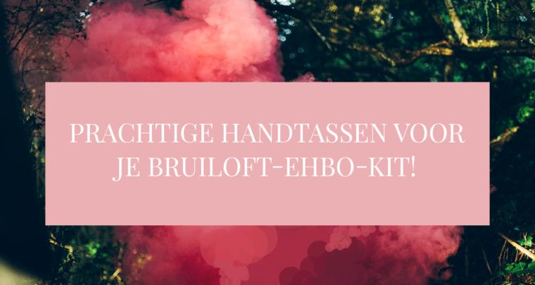 Prachtige handtassen voor je bruiloft-EHBO-kit!