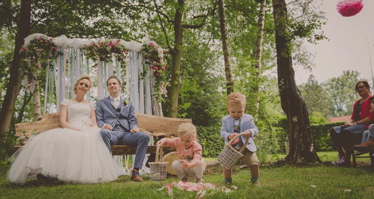 Kinderen op de bruiloft: dit is hoe je het leuk maakt!